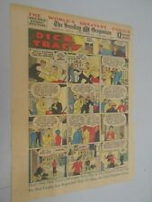 Sunday Comics- Feb.3rd1935- The Oregonian- Dick Tracy & Funland Activity Sheet