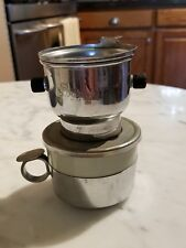 Coffee Expresso Maker Single Cup Ceramic & Metal Made by Salam In France