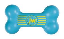 JW Pet  iSqueak  Assorted  ISqueak Bone  Rubber  Squeak Dog Toy  Medium