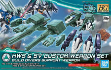 Bandai Gundam HG Build Custom HGBC #046 HWS & SV Weapon Set 1/144 Model Kit