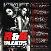 DJ Kurupt RNB Blends Klub Klassics NYC Hip Hop R&B Blend Mixtape Mix CD PROMO