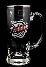 Duckstein Bierkrug, Glas / Gläser, Mini Bierglas 0,3l mit Silberrand