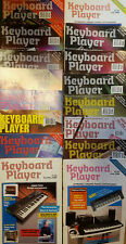 Keyboard Player magazines 1988- 1994 vintage in good condtion