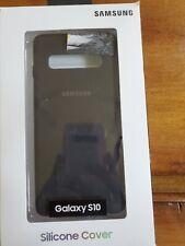 Genuine Samsung Silicone Cover Hard Case For Galaxy S10 Black New