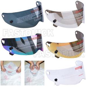 3mm Visor Shield Lens for ATV Motorcycle Bike Kart Racing Full Face Helmet New