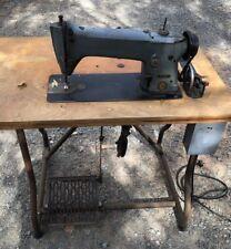 INDUSTRIAL SINGER SEWING MACHINE - Model 196K