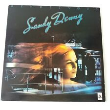 Sandy Denny - Rensezvous - Vinyl LP UK 1986 Press EX/NM