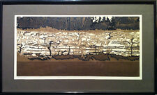 John Benn (Canadian) - S/N Etching - Striped Rock