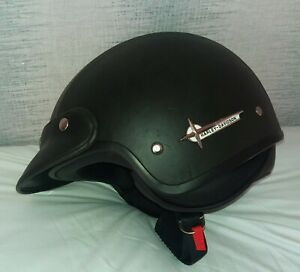 Harley Davidson 'Freedom Rider' Motorcycle helmet, Open-faced, with peak, Size M