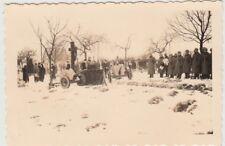 (F29041) Orig. Foto Geschütze z. Heldengedenktag in Norath am 10.3.1940