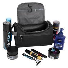 Waterproof Travel Wash Bag Mens Toiletry Organizer Shaving Cosmetic Case Man