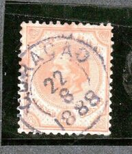 Netherland Antilles 8 - King William III Issue.  Used. Center Thin.  #02 NETH8