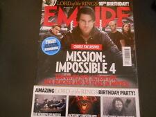 Tom Cruise, Michelle Williams, Steven Spielberg - Empire Magazine 2011