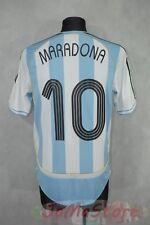 ARGENTYNA / REPREZENTACYJNA KOSZULKA HOME _ MARADONA #10 _ 2006 - 2007 _ S