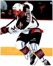 Buffalo Sabres CHRIS GRATTON Signed Autographed 8x10 Pic B