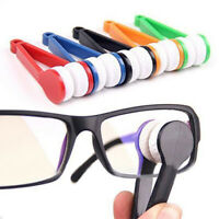 1/2/5 pcs Mini Portable Glasses Cleaner Brush Sunglasses Accessories