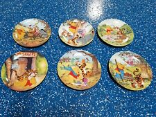 Full set of 12 Winnie the pooh collectors plates(with certificate)