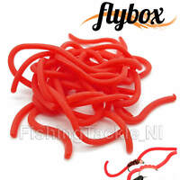 Flybox Squirmy Legs Professional Fly Tying Material Worm Squiggly Legs Fishing