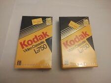(2)New In Box Sealed Kodak Beta Tape L-750