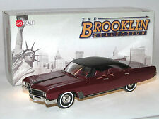 Brooklin BRK 208a 1967 Buick Wildcat 4-door hardtop sedan Burgundy/Black, 1/43