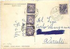 P5075    Annullo ambulante  Mess. Cremona-Treviglio-Milano  1960