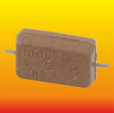 1000 pF 500 V 5 % LOT OF 2 RUSSIAN MILITARY SILVER-MICA CAPACITORS KSO-2W КСО-2В