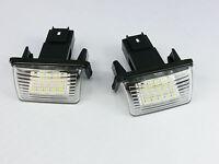 LED NUMBER PLATE LICENSE PANEL LIGHT LAMP Citroen Xsara Picasso, Peugeot