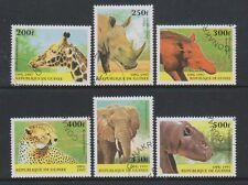 Guinea - 1997 Mammals (Animals) set - F/U - SG 1733/8