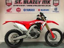 Honda 225 to 374 cc Off-Road Motorcross Motorcycles