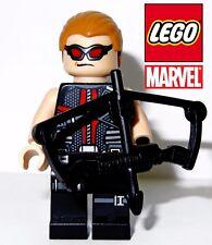 Lego Marvel Superheros Avengers Hawkeye Quiver and Bow Minifigure - NEW