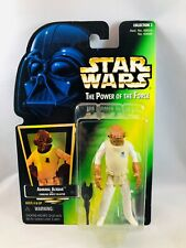 Star Wars The Power of the Force Admiral Ackbar Action Figure