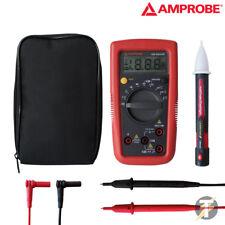 Amprobe AM-500 Hazlo tú mismo Pro Multímetro Digital Con Estuche Y Puntas De Prueba Plus Voltstick