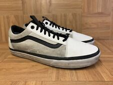 RARE🔥 VANS x The North Face Old Skool Sz 12 Men's White Black Skateboarding LE