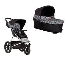 Mountain Buggy Kinderwagen Terrain + Carrycot Babyschale graphite NEU !!!