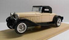 Eligor 1/43 Scale Diecast Model 1004 DELAGE D8S CABRIOLET 1932 CAPOTE CREAM