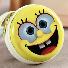 SPONGEBOB EARPHONE CASE PURSE COIN HOLDER HEARING AID UK SELLER!!