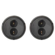 JW Speaker 0346503 12V DOT/ECE LED Round Turn Signals w/ Smoked Lens (Set of 2)