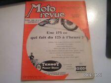 **c Moto revue n°1391 Essai 250 N S U Supermax / L'élasticité moteur