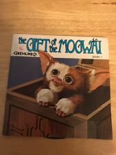 THE GIFT OF THE MOGWAI GREMLINS GIZMO GREMLIN READ ALONG BOOK RECORD SET STORY 1