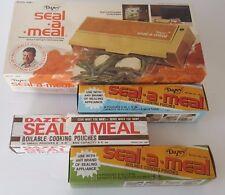 VINTAGE DAZEY SEAL A MEAL SAM1 New In Original Box w/ New Bags Unused !!!
