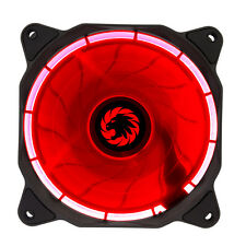 Game Max Eclipse Red LED Ring 120mm Fan PC 12cm Case Fan High Performance
