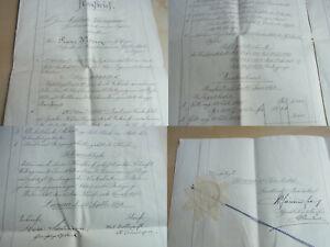 """Kaufbrief Luzern 1893: Gerichtspräsident """" Melchior """" Schürmann Sold Country &"""
