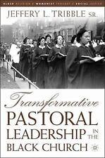 NEW - Transformative Pastoral Leadership in the Black Church