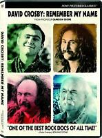 David Crosby - Remember My Name DVD NEW FREE SHIPPING preorder