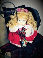 Meet Rowena Spirited Vintage Doll Vessel & Her Swiss Bell Playful Loves Heights