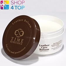 TIME RESISTANCE LEATHER CARE BALSAM BALM UNIVERSAL HANDBAGS SHOES CLOTHING 250ml
