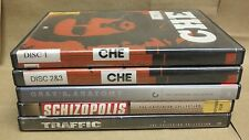 4 Criterion films by Soderbergh - Che, Traffic, Gray's Anatomy, Schizopolis !