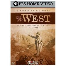 DVD: The Way West: How the West Was Lost & Won 1845-1893, . Very Good Cond.: .