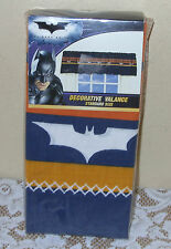 "BATMAN ROUGH BAT DARK BLUE  WINDOW VALANCE 84"" X 15"" DC Comics"