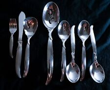 International Flair 8 Assorted Pieces of Silverplate Flatware Good Condition